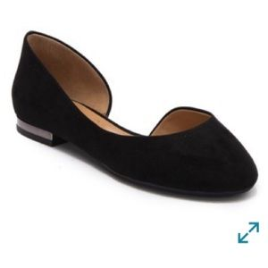 Jessica Simpson D'Orsay Size 6 Flat. Like new!